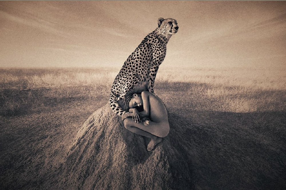 Girl Gone Authentic - Ashes and Snow - Gregory Colbert - Girl and leopard