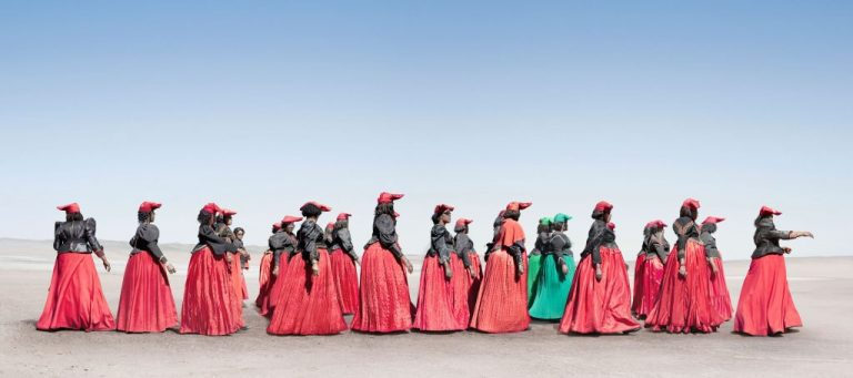 The People - Girl Gone Authentic - Herero People by Jim Naughten