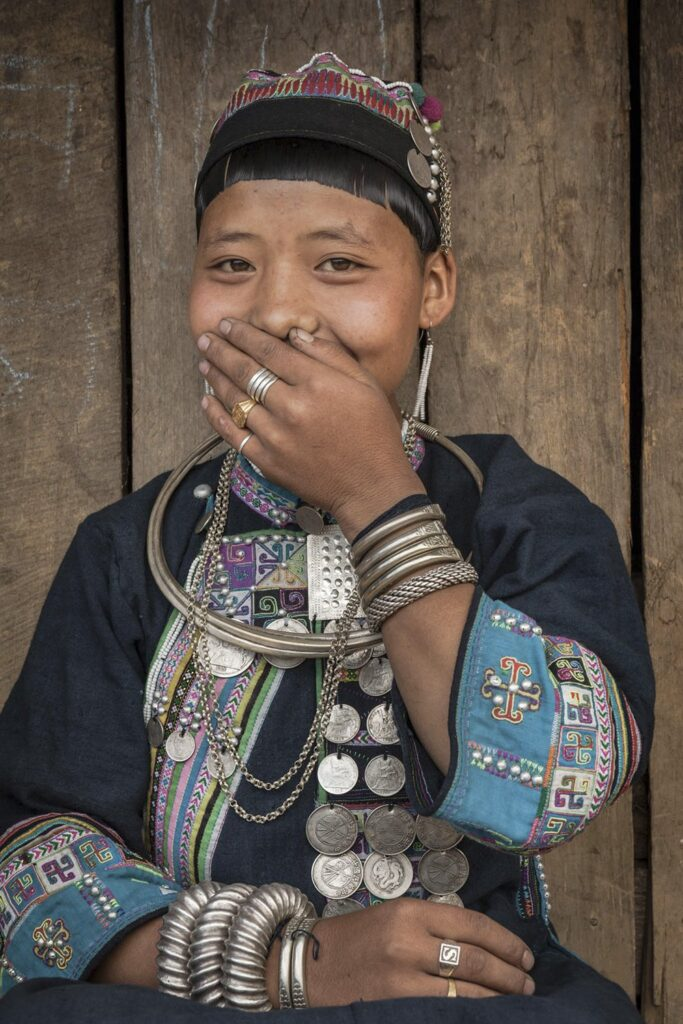 Akha silver jewelry - girl gone authentic - the people