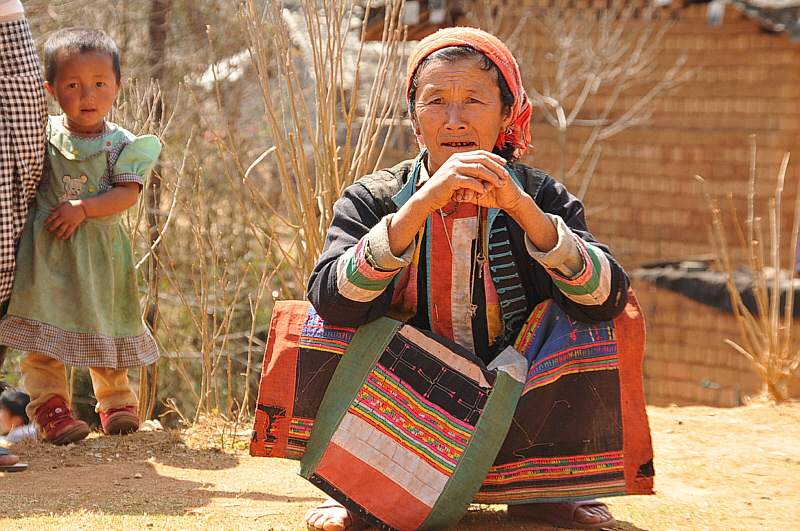Lisu tribe woman - girl gone authentic