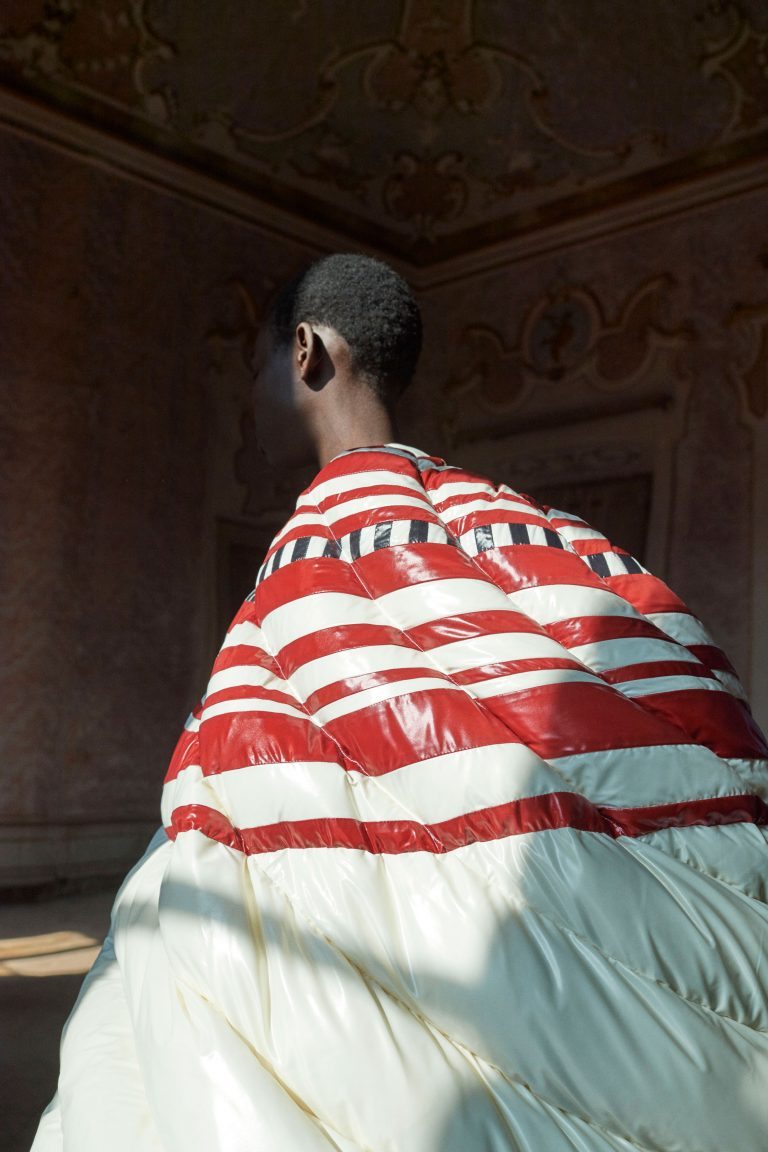 Girl Gone Authentic Rewriting the Rules: Moncler x Pierpaolo Piccioli x Liya Kebede cover