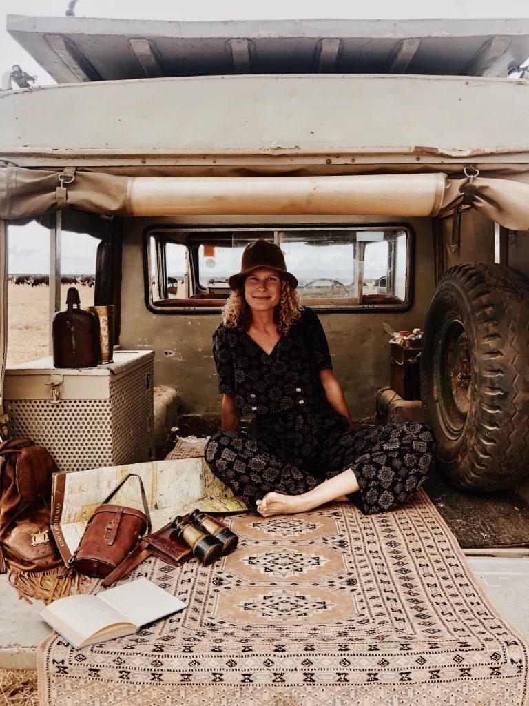 Girl Gone Authenti - Louise of Hamaji the Nomad