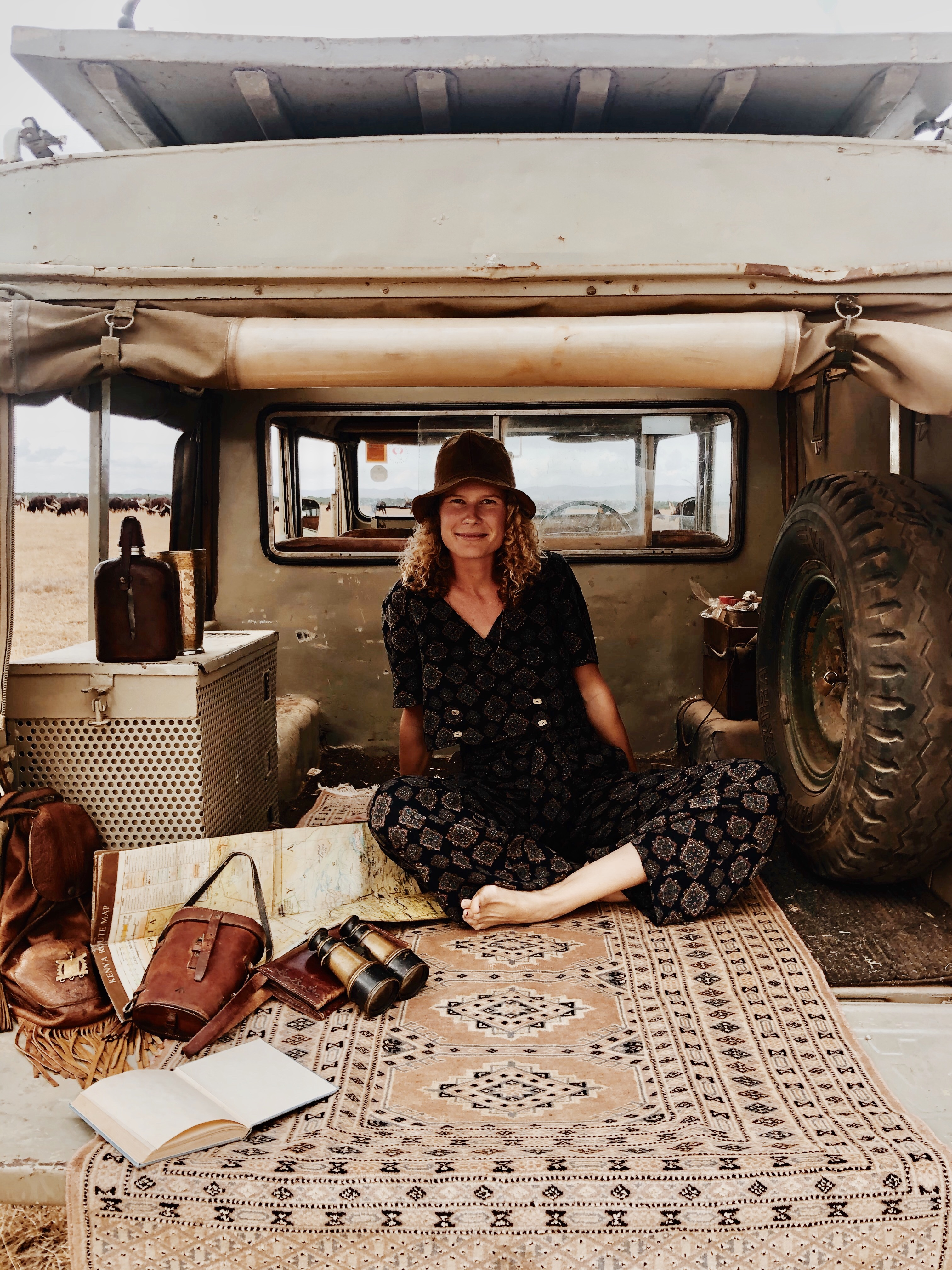 Louise Sommerlatte of Hamaji the Nomad: More than a Textile Love Affair