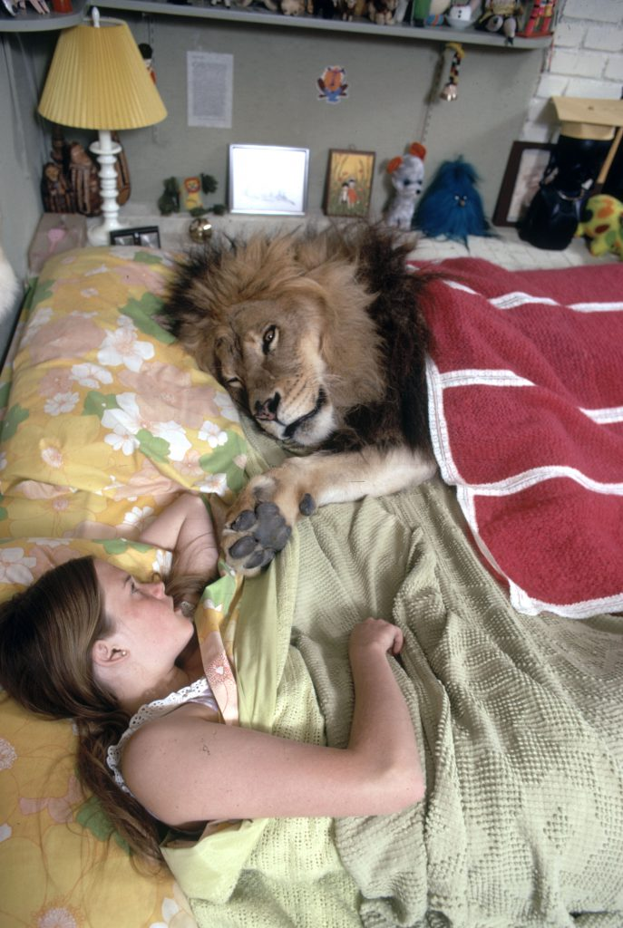 melanie griffith and neil the lion